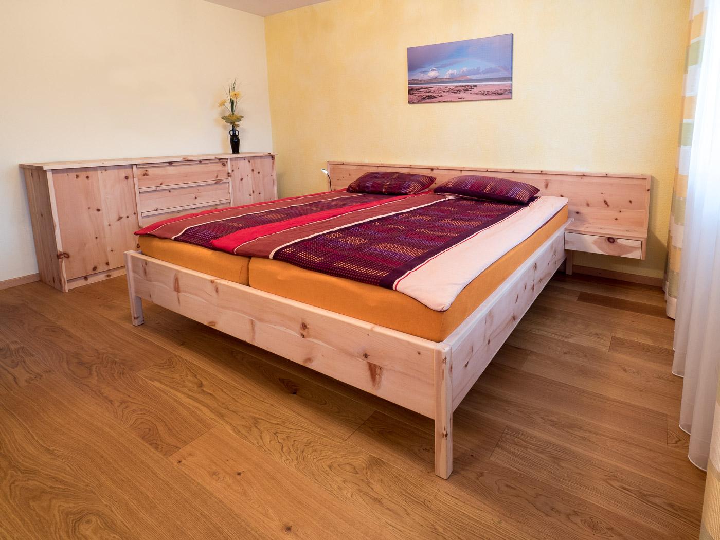 Schlafzimmermöbel und Betten vom Schreiner Dorhuber in Kienberg.